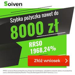 Solven- pożyczka do 8000 zł