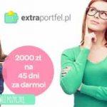 2000 zł za darmo na 45 dni od Extraportfel