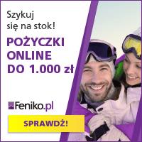 Pożyczka online do 1000 zł w Feniko