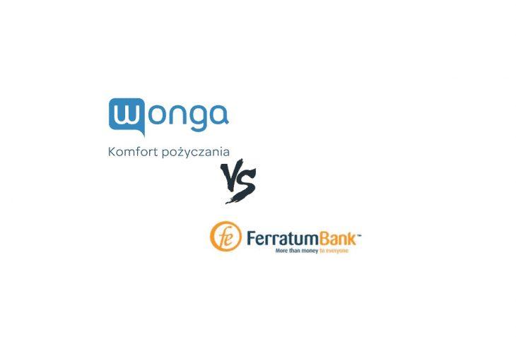 Pożyczka ratalna w Wonga czy Ferratum Bank