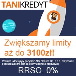 3100 zł za darmo w Tani Kredyt