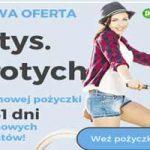 InCredit - 2000 zł na 61 dni za darmo!
