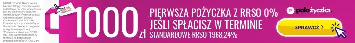 POLOżyczka - pierwsza darmowa pożyczka do 1000 zł