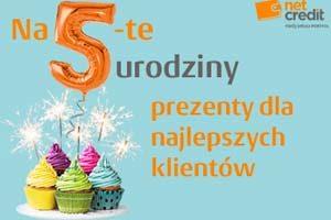 Piąte urodziny NetCredit