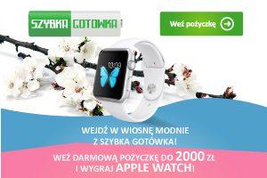 Wygraj apple watch z szybka gotówka