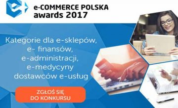 E-finanse na konkursie e-Commerce Polska awards 2017!
