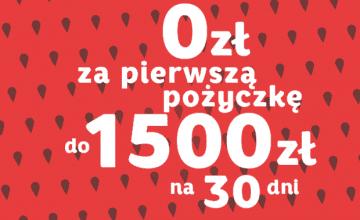 1500 zł za darmo przy pierwszej pożyczce w Miloan