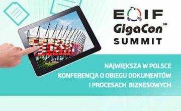 Summit EOIF GigaCon 2017 już 26-27 lipca