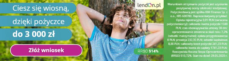 Weź pożyczkę w Lendon