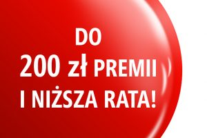 Do 200 zł premii i niższa rata w KredytOK