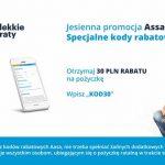 Kod rabatowy 30 pln od AASA