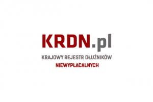 KRDN - Rejestr Dłużników Niewypłacalnych