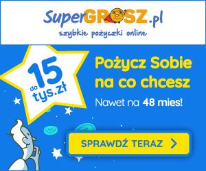 Super Grosz - pożyczka na raty
