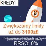 Tani Kredyt zwiększa limity aż do 3100 zł