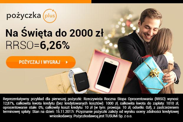Promocyjne RRSO w pozyczkaplus.pl na święta