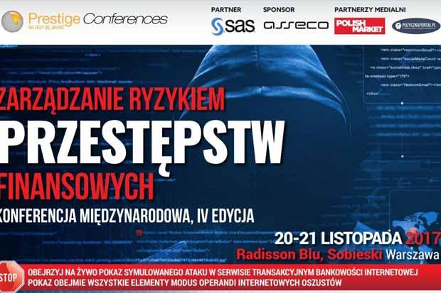 Konferencja Zarządzanie Ryzykiem Przestępstw Finansowych już 20-21 listopada
