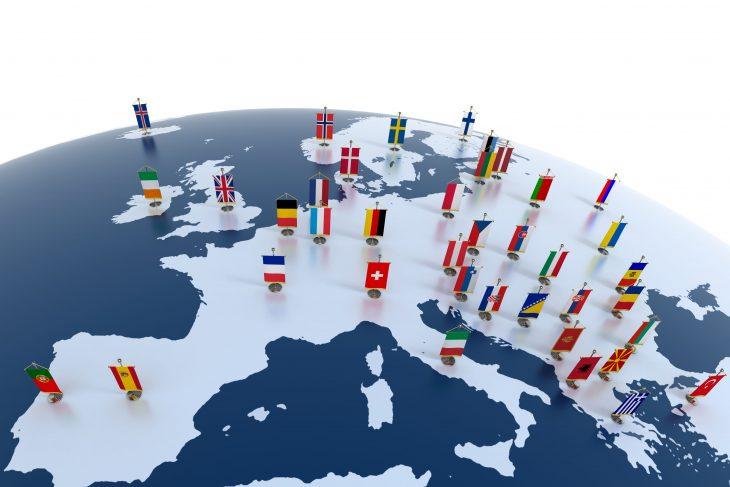 Najnowsza mapa poziomu dobrobytu w Europie według Eurostat