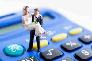 Kalkulator wydatków ślubnych pozwala oszacować koszty wesela i ewentualną wysokość pożyczki.