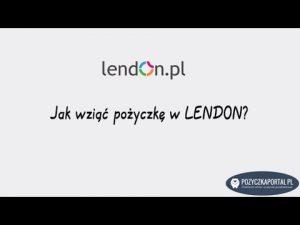 Lendon - Jak wziąć pożyczkę krok po kroku