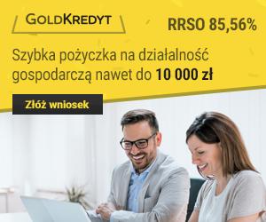 Pożyczka dla Firm od GoldKredyt.pl