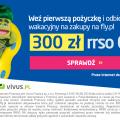 Promocja dla klientów Vivus - zdobądź bon na wakacje!