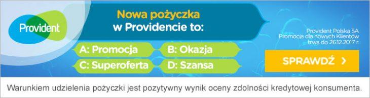 Provident organizuje Wielką loterię – pożyczaj i wygrywaj!