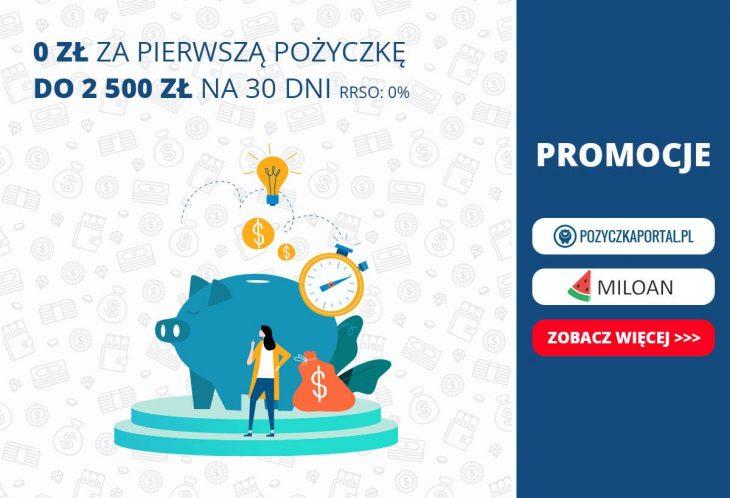 Miloan - do 2500 zł za darmo!