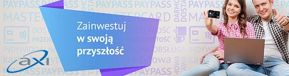 Karta Kredytowa AXI - skorzystaj z oferty!