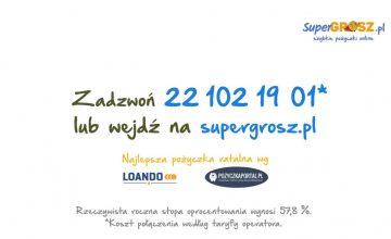 Supergrosz.pl - szybkie pożyczki online