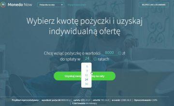 Monedo Now - jak wziąć pożyczkę krok po kroku? | POZYCZKAPORTAL.PL