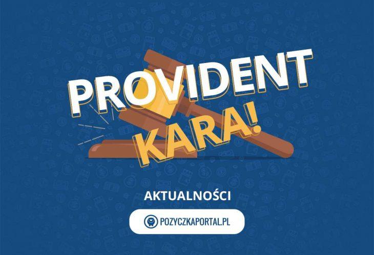 Provident dostał 12 mln zł kary.