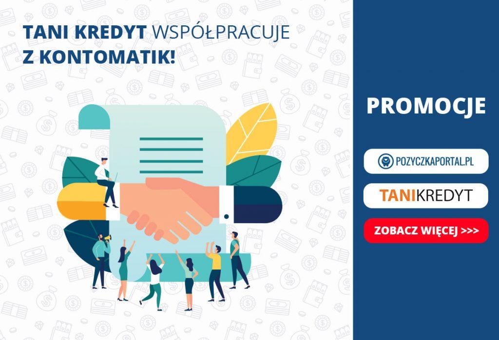 Tani Kredyt współpracuje z Kontomatik.