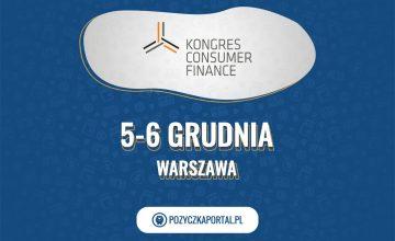 Kongres Consumer Finance odbędzie się 5 i 6 grudnia w Warszawie.