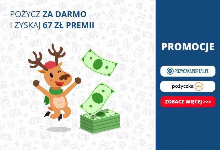 Promocja w Pożyczka Plus - weź pożyczkę i otrzymaj premię!