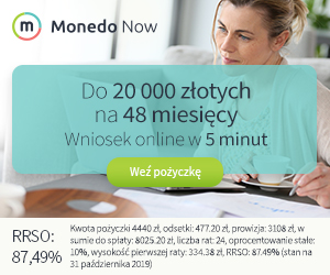 Najlepszy kredyt na 20000 zł!