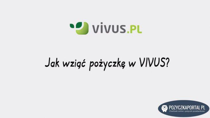 Vivus - Jak wziąć pożyczkę krok po kroku