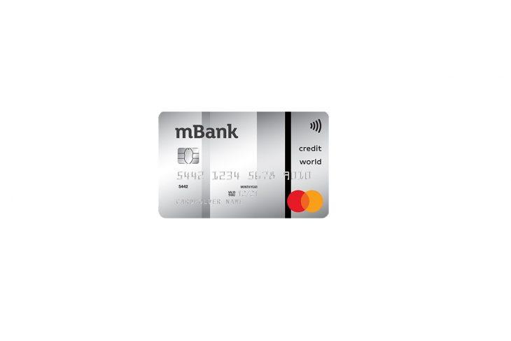 Jak uzyskać kartę kredytową World MasterCard od mBanku?