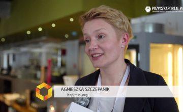 FinTech Brunch #1 - Agnieszka Szczepanik, Kapitalni.org