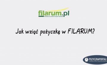 Filarum - jak wziąć pożyczkę krok po kroku