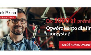 300 zł w promocji Pekao bez problemu dostanie każdy przedsiębiorca