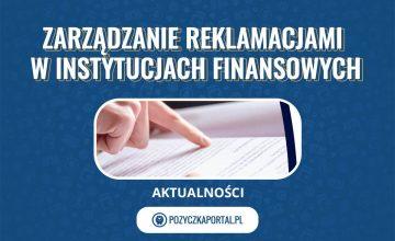 Warsztaty z zarządzania reklamacjami w instytucjach finansowych - informacje praktyczne